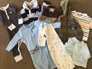 3-6mth old boys winter clothing