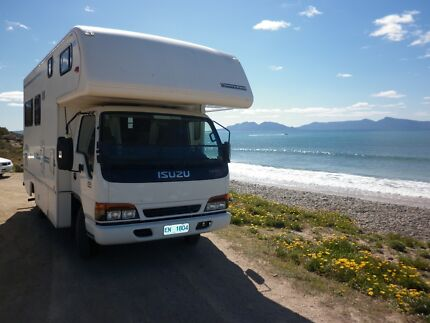 Winnebago Motorhome with Isuzu NPR 250 truck $55,000 Hobart CBD Hobart City Preview