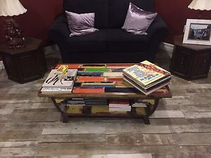 Two Hexagon End Tables