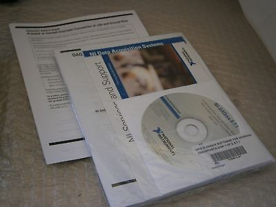 National Instr. 777453v-01 Ni-can For Windows Ver. 2.4 500513v-01 Software Cd