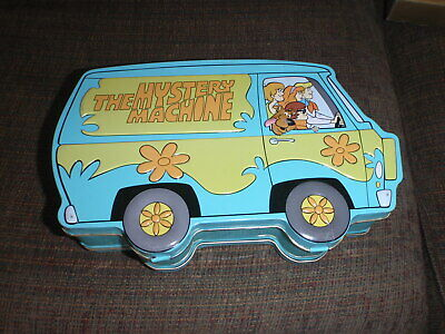 Scooby-Doo Vintage Tin Lunch Box The Mystery Machine 2000