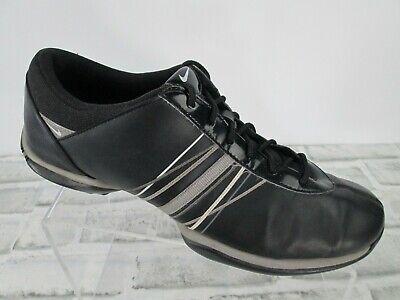 Nike Delight Golf Shoes Womens Sz 9.5 Black Leather 418355-101 Athletic Cleats Womens Delight Golf Shoes