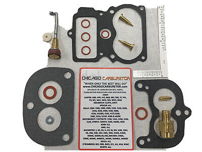 STROMBERG 97 2 BARREL STANDARD CARBURETOR REPAIR KIT - NEW - HOT ROD HI PERF