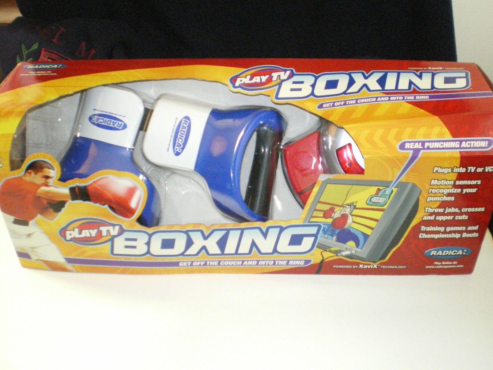 Vintage/New Radica Play TV Boxing Plug N Play