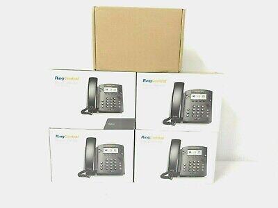Lot Of 5 Polycom Vvx 310 Gigabit Ip Display Office Phones 2201-46161-001 In Box