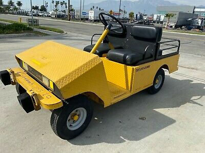2011 Taylor Dunn R380 Electric Flatbed Personnel Carrier Cart