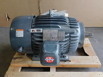 New Us Motors Electric Motor 15 Hp 254tc Frame 1775 Rpm Te 208-230460