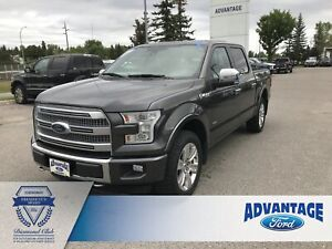2016 Ford F-150 Platinum Leather Heated / Cooled Seats