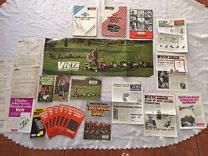 Vintage Victa  mower advertising bulk lot Victoria Point Redland Area Preview
