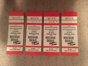 4 Spring invasion tickets