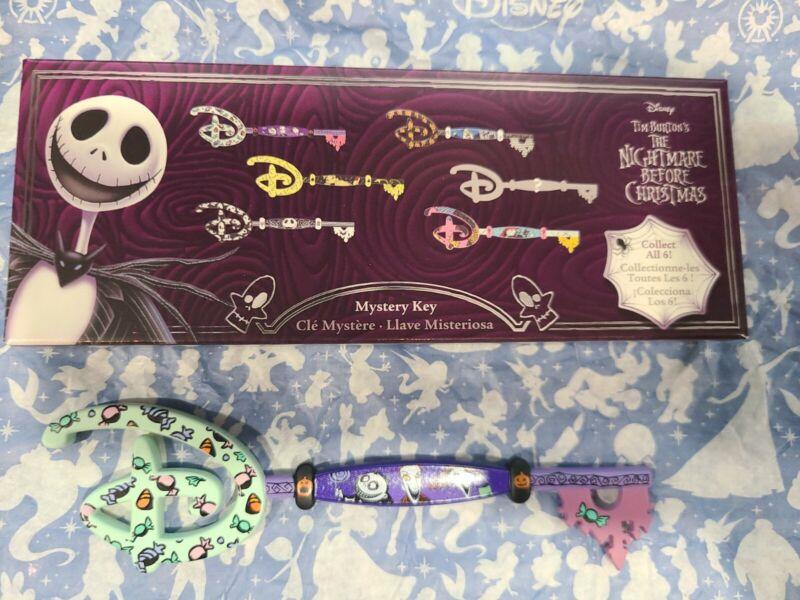 Disney 2021 NIGHTMARE BEFORE CHRISTMAS Mystery Collectible Key Lock Shock Barrel