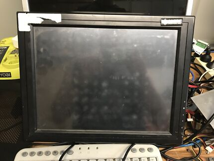 15 inch lcd monitor with wall bracket