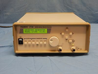 Pragmatic 2714a 20ms Arbitrary Waveform Generator With Hpib Tested