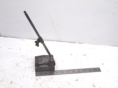 Vintage Starrett Dial Indicator Gauge Holder Base