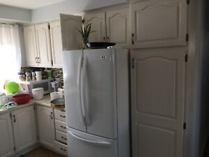Kitchen cabinets, sink, faucet counter top ,mint condition
