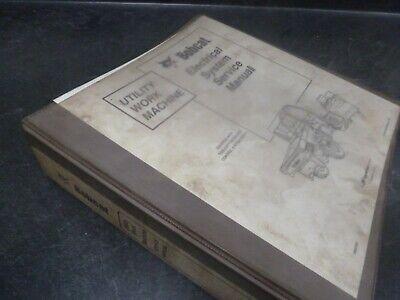 Bobcat Toolcat 5600 Utility Work Machine Electrical System Service Repair Manual