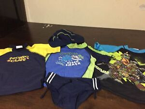Baby Swimming Shirts x 3 Hat & Speedos Werrington County Penrith Area Preview