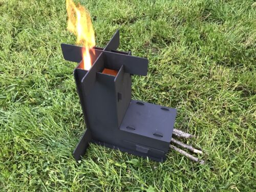 Camping Outdoor Pot Pan Set Backpack Tableware Cookware Kit Mini Gas Stove J1X4