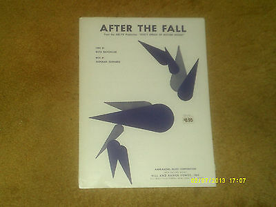 After The Fall sheet music from TV special WHO's AFRAID OF MOTHER GOOSE? '68 NM