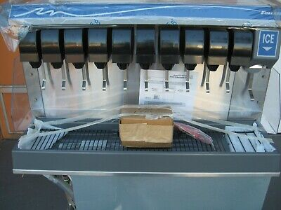 Follett Vu155b10rl Countertop Nugget Ice Soft Drink Dispenser - 150 Lb Storage