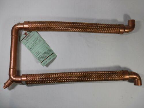 """1"""" Metraflex Braided Copper MetraLoop Flexible Loop Expansion Joint"""