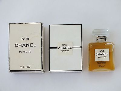 NO. 19 CHANEL VINTAGE PERFUME  - 0.5 FL. OZ EA *DISCONTINUED FRAGRANCE*