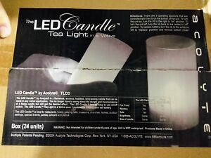 12 x Boxes of 24 LED Battery Operated Candles!!