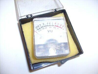 Vintage Vu Meter Japan -1022 From Radio Estate