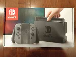 Nintendo Switch Grey Game Bundle (Brand new and sealed)