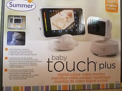 New   Summer Infant Baby Touch Plus Monitor   Camera   28620