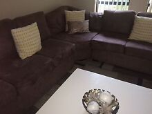 Chocolate/Mocha 7-10 Seater Lounge Hoxton Park Liverpool Area Preview