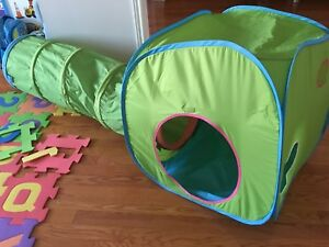 IKEA play tent and play tunnel