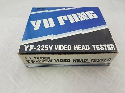 Yf-225v Vintage Yu Fong Vhs Video Head Tester