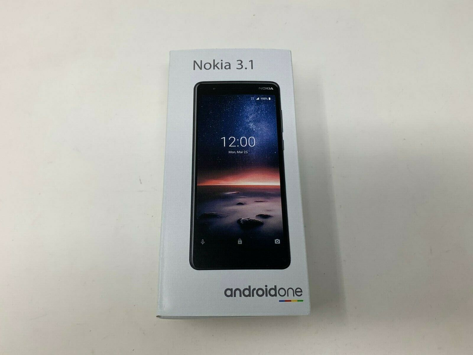 Android Phone - Nokia 3.1 AT&T GSM Unlocked 32GB 4G LTE Android 9.0 SmartPhone Black New
