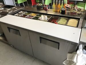 Prep Table / Cold Table WORKING