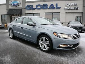2013 Volkswagen CC Sport Line 6 SPEED. LEATHER ALLOYS.