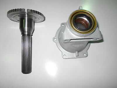 - 4L80E 2WD TAIL HOUSING OUTPUT SHAFT 1997 & UP GM 4L85E MT1 MN8 TRANSMISSION