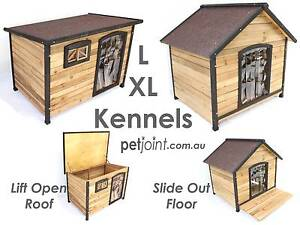 Wooden Winter Home Extra Large Pet Kennel for Big Huge Dog Timber Campbellfield Hume Area Preview