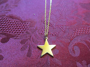 Girls-Goldtone-Star-Charm-Necklace