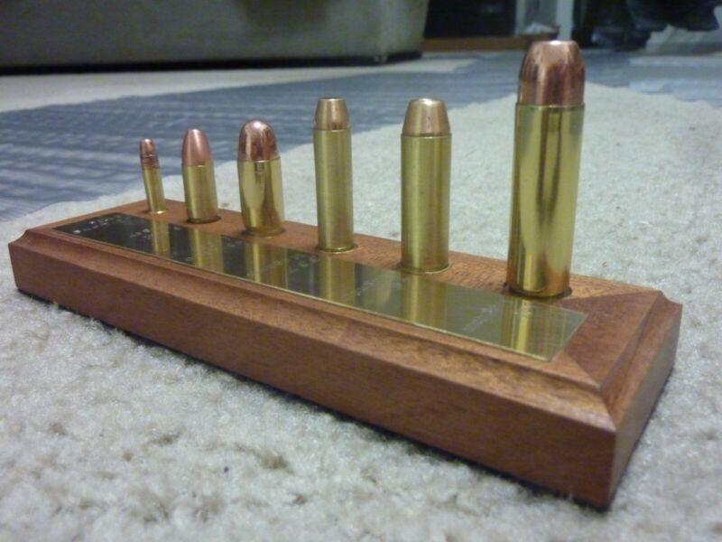 Pistol Cartridge Bullet Ammunition Display Board