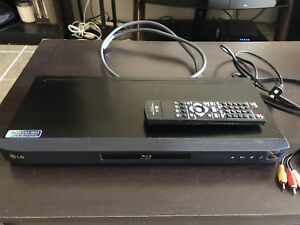 LG blu ray DVD player Mint Condition