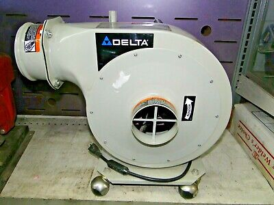 Delta Shopmaster Ap300 34hp Portable Dust Collector 3450rpm 120240v 1ph