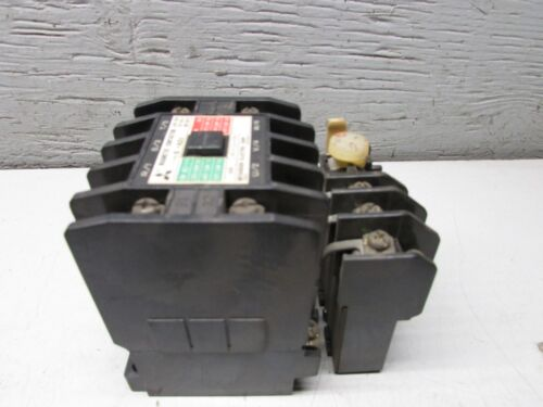 Mitsubishi S-A21 Magnetic Contactor With TH-20 Overload Relay.
