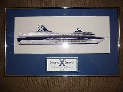 Celebrity Cruise Lines  1996  Inaugural Season 12  X 20  Print Of The Century