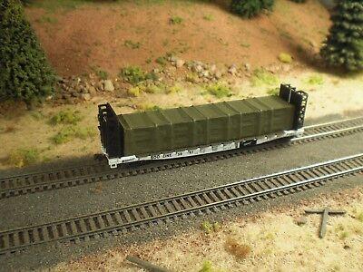 Tarp Covered Building Materials Load  Olive Drab Green    Fits 50  Foot Flatcars