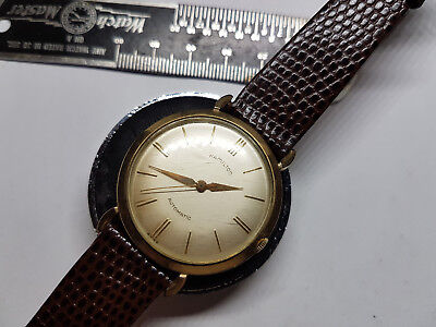 VINTAGE 1957 HAMILTON KINEMATIC I CAL 672 AUTOMATIC WATCH RUNNING GOOD