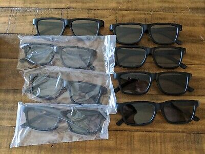 Vizio Theater 3D Glasses, 8 Pairs (and all Passive 3D TV)