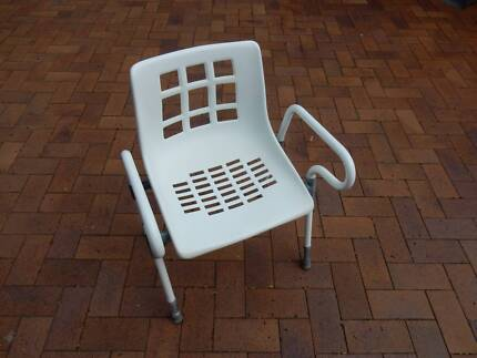 Shower chair white | Miscellaneous Goods | Gumtree Australia North ...