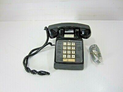 Vintage Ibm Company Comdial Desktop Phone - Black.