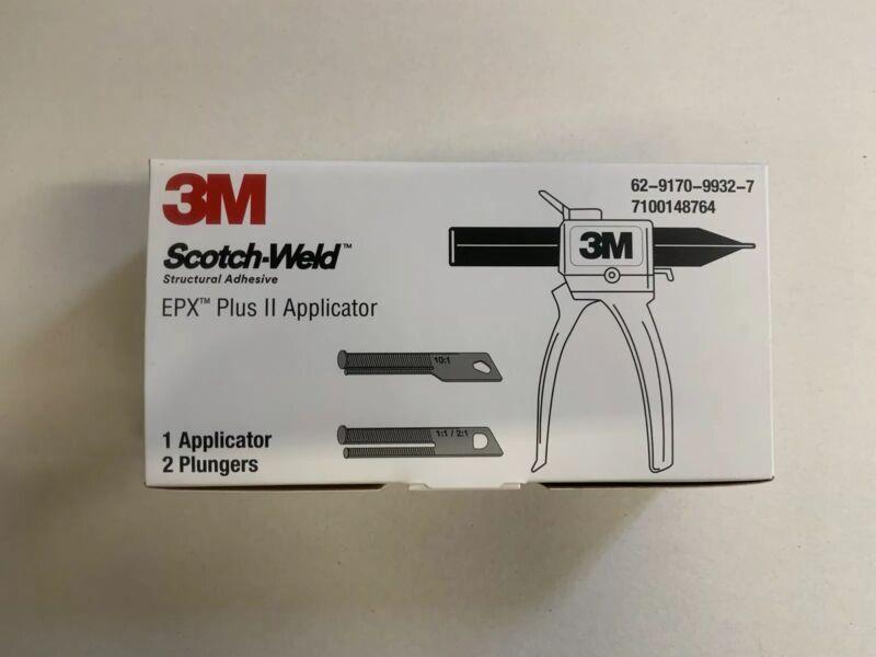 3M™ Scotch-Weld™ EPX Plus II Applicator w/Plungers, 48.5mL/50mL